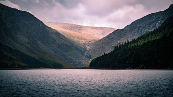 Upper Lake - Glendalough, Ireland - Landscape photography - Kostenloses image #453651