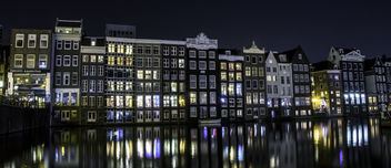 Midnight Canal Reflections - Free image #453991