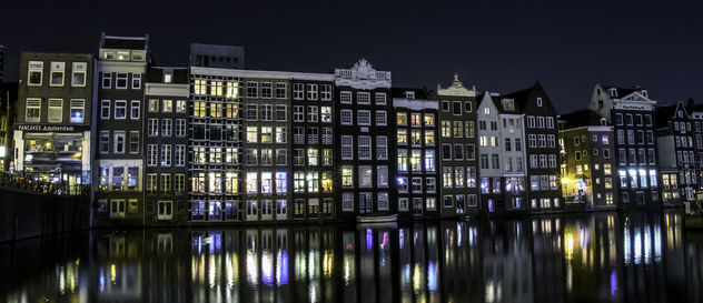 Midnight Canal Reflections - image gratuit #453991