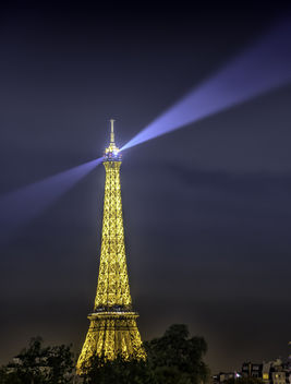 Eiffel Tower at MIdnight - Free image #454231