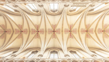 Wells Cathedral Ceiling - бесплатный image #455311