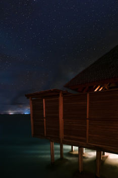 Water villa - Maldives - Travel photography - Free image #455561