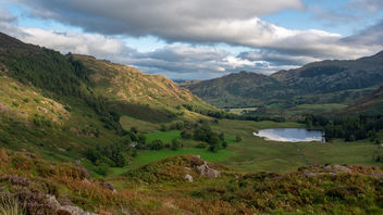 Blea Tarn from Side Pike - image #455821 gratis