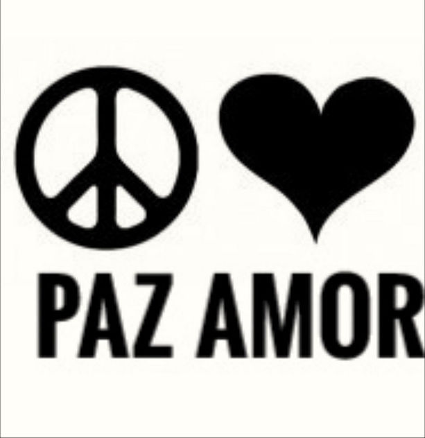 PAZ y AMOR - PEACE and LOVE - image gratuit #456551