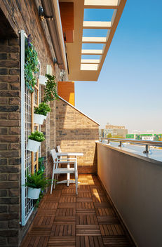Modern Terrace Exterior - Free image #456671