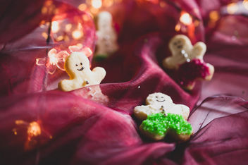 Gingerman shaped cookies - бесплатный image #457601