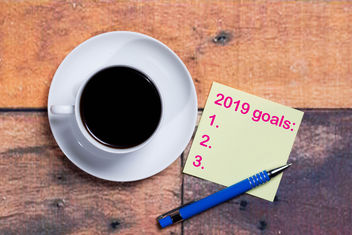 2019 goals on a napkin.jpg - Free image #457651