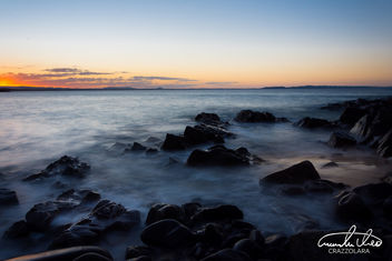 Granite Bay Long Exposure Sunset - image gratuit #459331