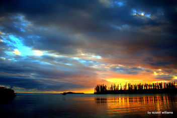 Sunset by iezalel williams - Isle of Pines in New Caledonia - IMG_3341 - Canon EOS 700D - Kostenloses image #461721