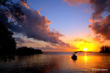 Sunset by iezalel williams - Isle of Pines in New Caledonia - IMG_6077-002 - Canon EOS 700D - Kostenloses image #462181