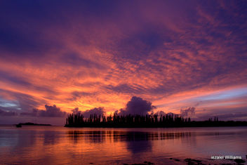Good Evening Friends of the World(s) - sunset in Isle of Pines by iezalel williams IMG_0136 - Kostenloses image #463121