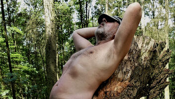 topless in the forest - image gratuit #469901